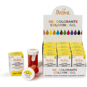 Decora Gel Colorante Giallo...